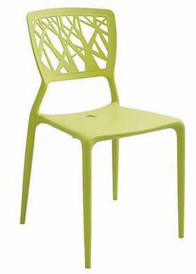 China living room furniture stacking plastic dining chair for Plastic furniture for living room