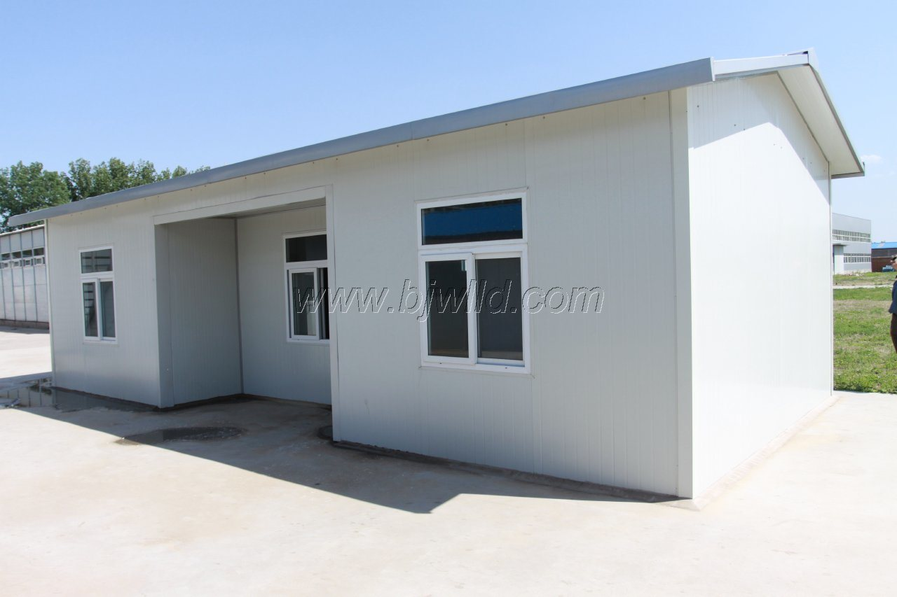 China prefabricated house building modular camp house good for Cost of building a house in pa