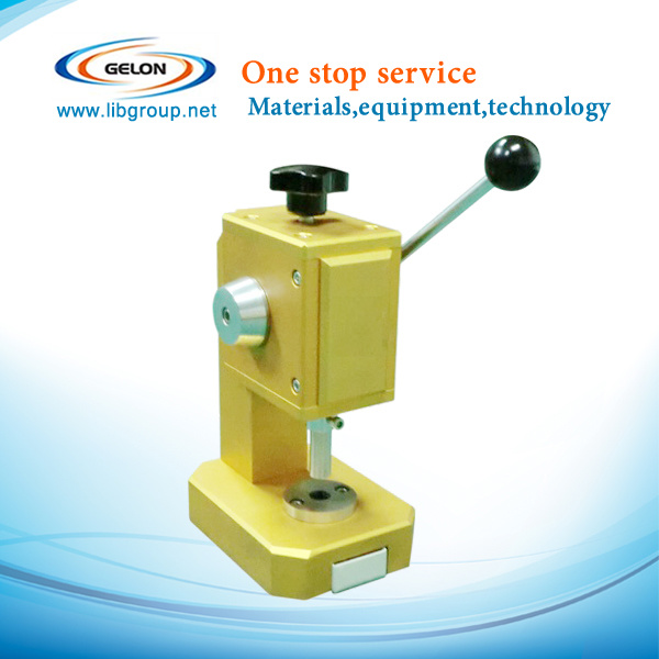 Coin Cells Disc Cutter Punching Machine for Lithium Ion Battery