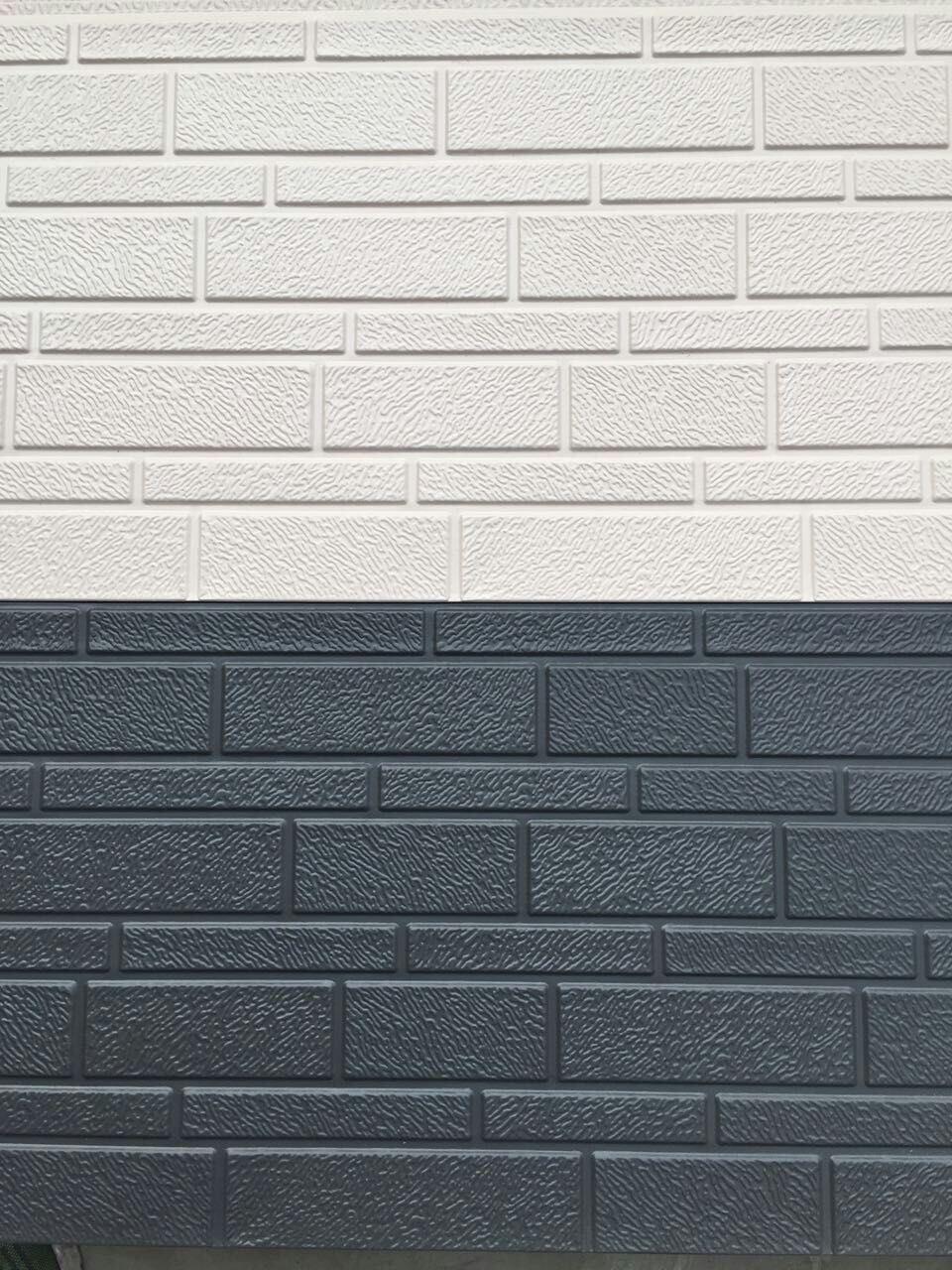 Metal Decorative PU Foam Insulated Wall Cladding