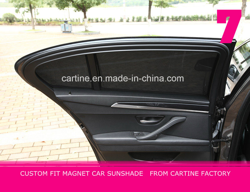 Custom Fit Magnetic Car Sunshade 4PCS Side Sunshades