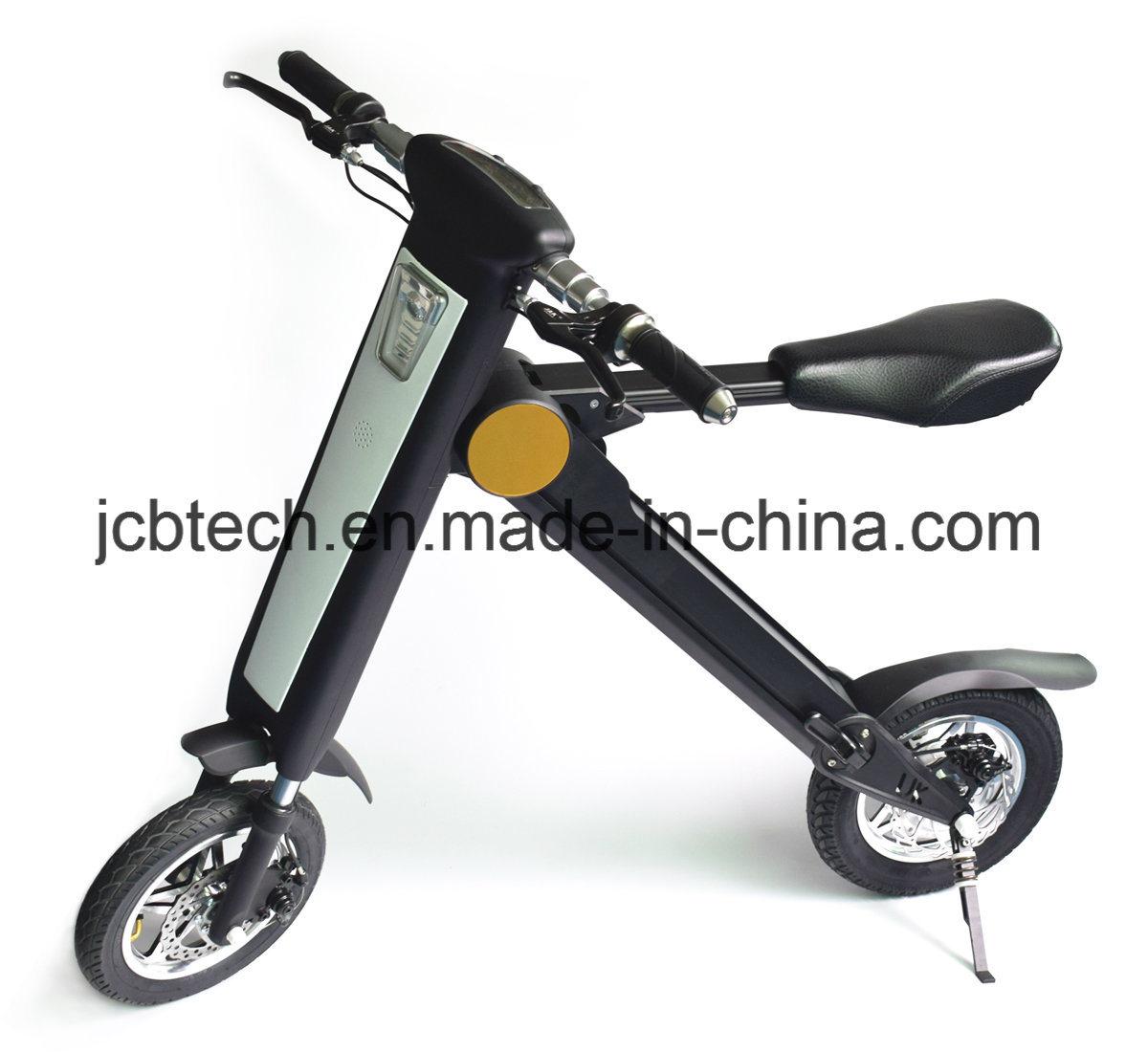 2 Wheel E Bike with Bluetooth, GPS, USB