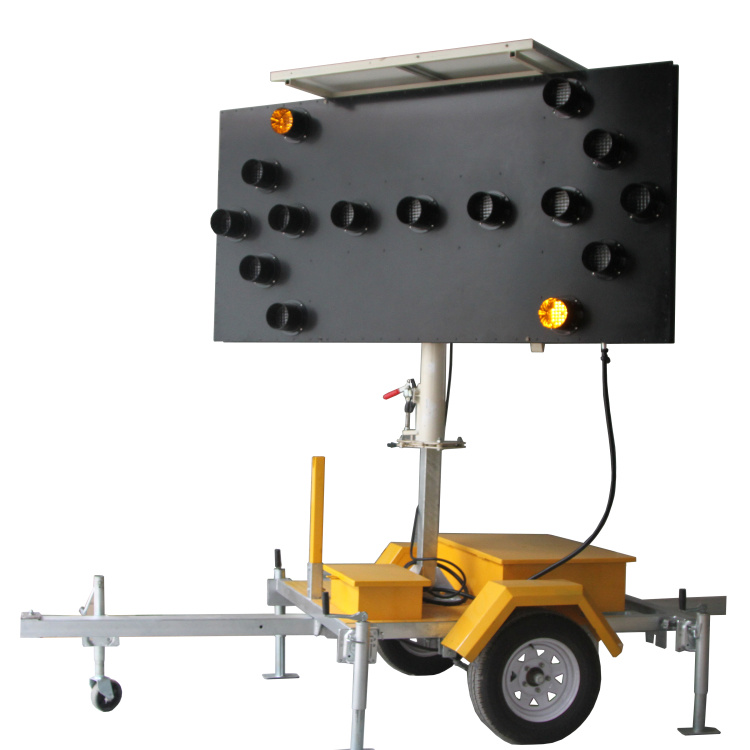 As4192 Solar Power Portable Trailer Mounted Arrow Boards