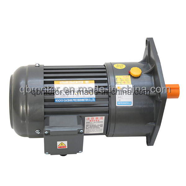 200W Vertical Mounted Gear Motor Small AC Gear Reducer