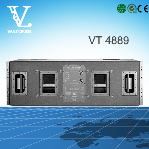 Vt4889 Double 15′′ 3-Way Big Size Line Array Audio System