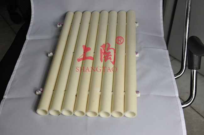 C799 Al2O3 Alumina Ceramic Tube for Furnace Processing
