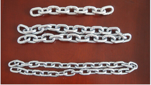 DIN 763 Link Chain with Bright Finish