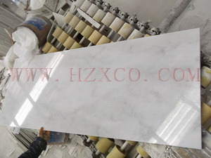 Carrara White/Statuario White/Polished Marble/White Marble/Oriental White Marble for Tile/Slab/Stair/Tread/Baluster/Sink/Monument/Vase/Basin