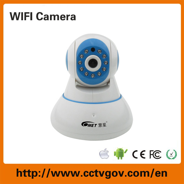 720p HD Real-Time Video Monitor WiFi Wireless CCTV Surveillance Camera