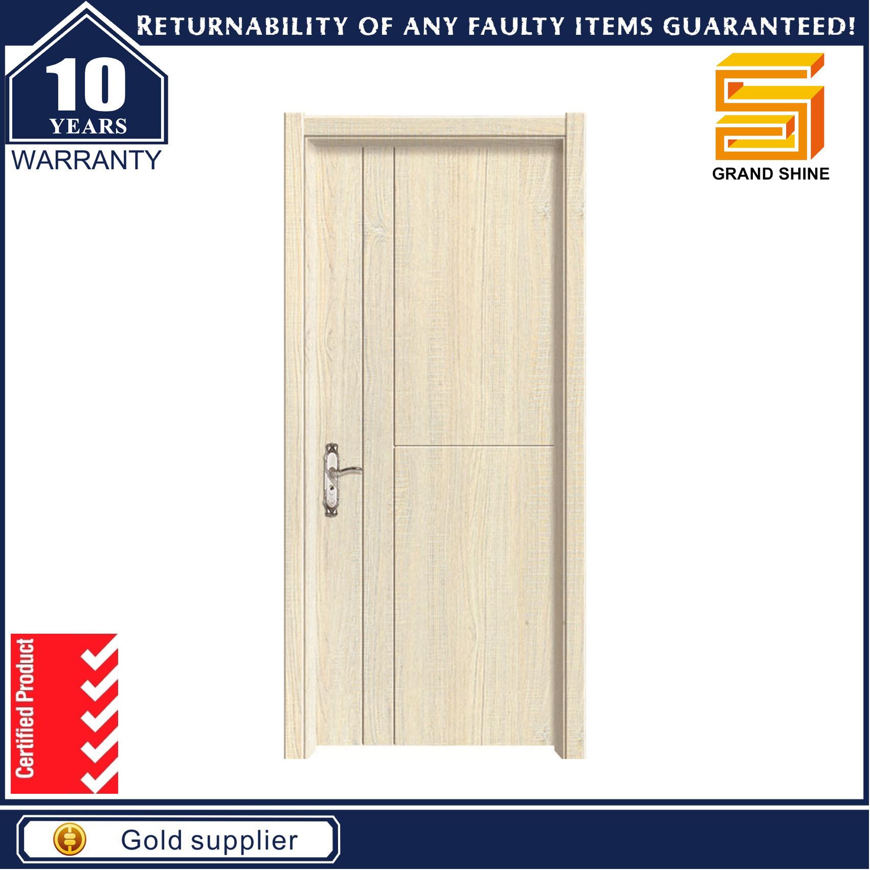 Wholesale Wooden Interior Solid Wood PVC Door
