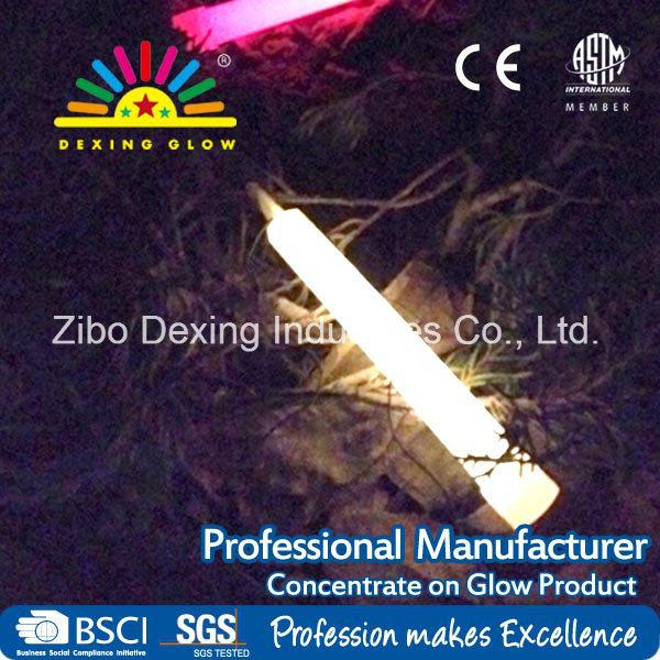 6′′ White Glow Stick No-Toxic Glow Toys for Night Party
