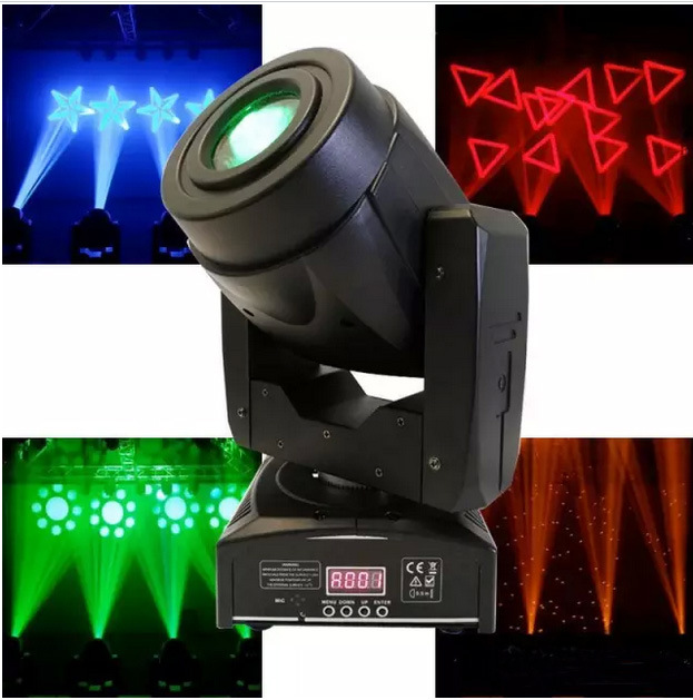 60W Compact LED Moving Head Light for DJ and Disco