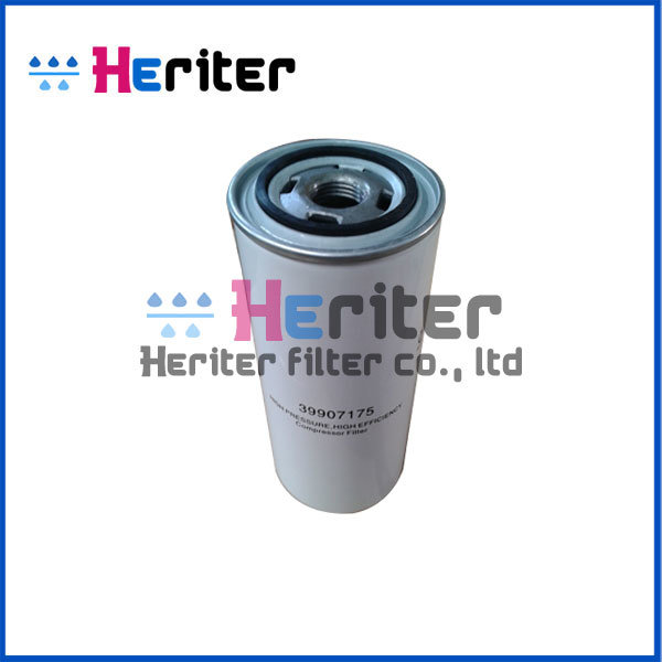 39907175 Replacement Ingersoll Rand Oil Filter Element
