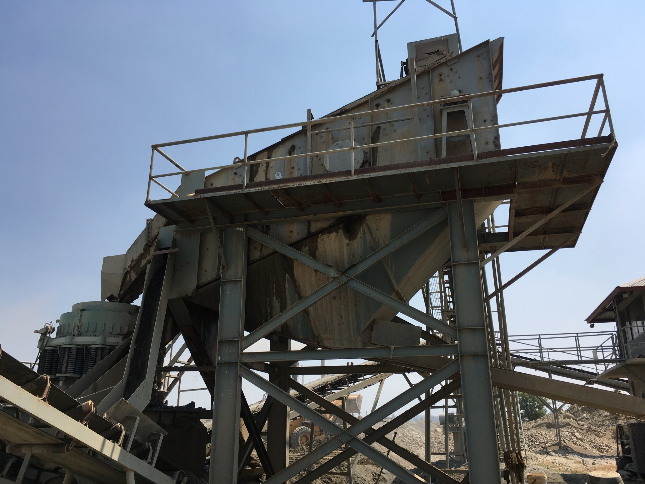 River Stone Gravel Crushing Plant for Aggregates