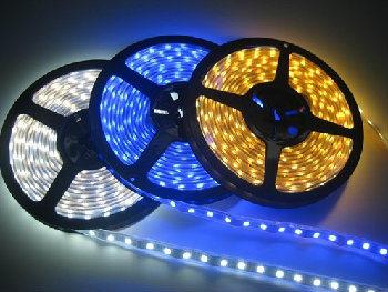 SMD3528 RGB Flexible LED Strip Lighting 5m/Roll