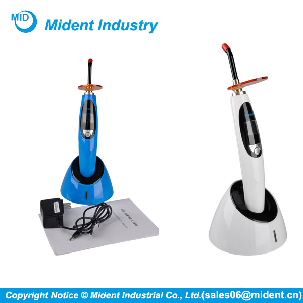 Cordless Dental LED Curing Light with Whitening Function