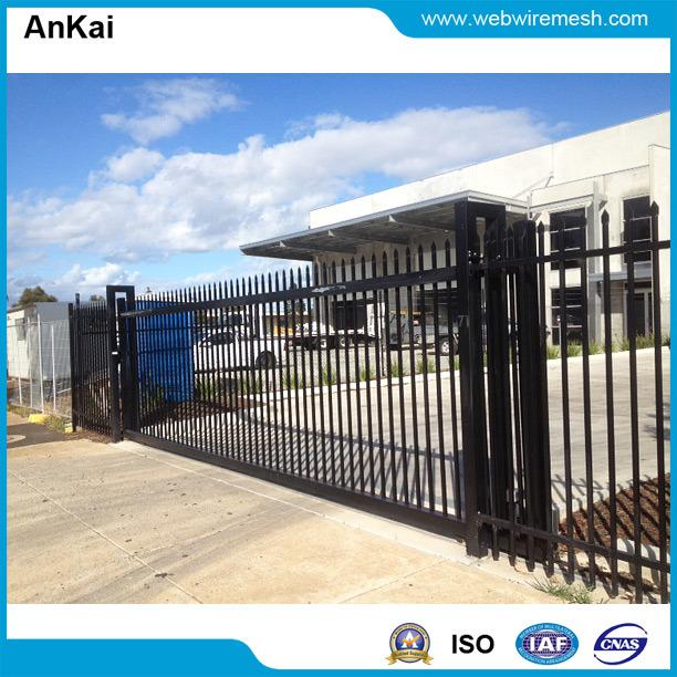 Australia Standard, Powder Coated, Automatic Sliding Steel Gate