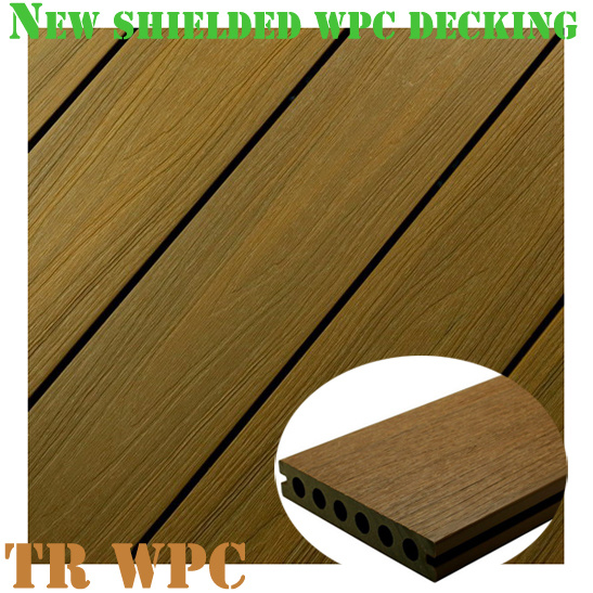 New Wood Plastic Composite Decking