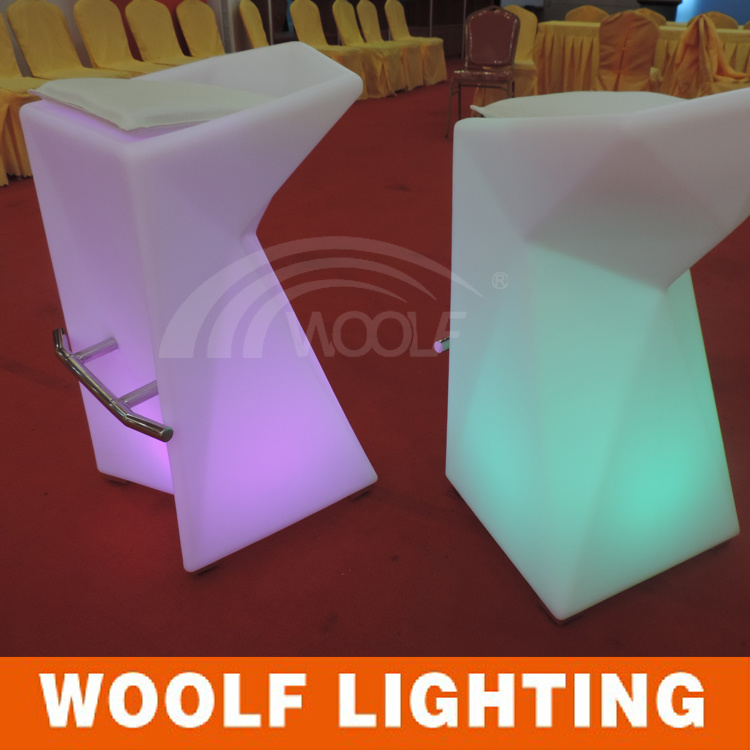Club Modern Illuminated Light up LED Bar Stool