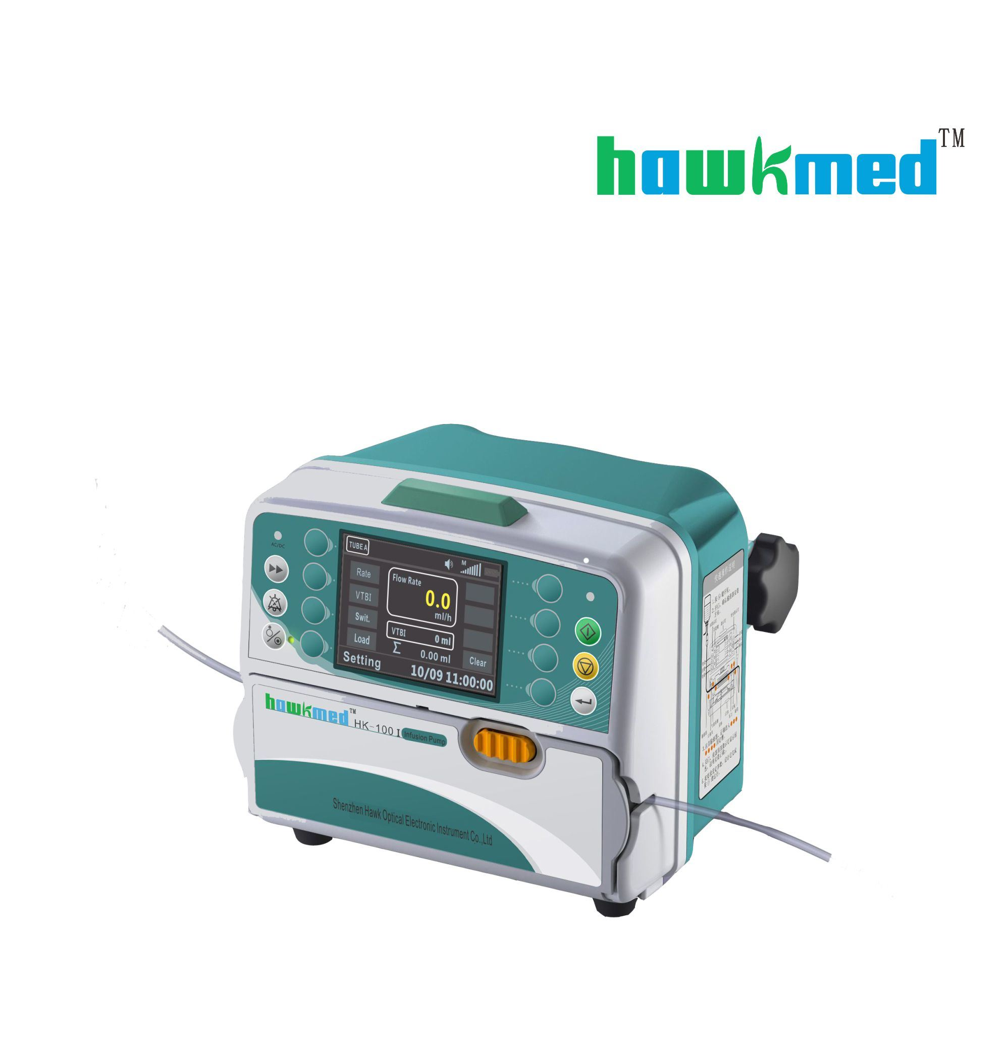 Peristalsis Volumetric Infusion Pump (HK-100I)