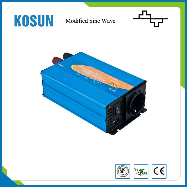 ISO9001 Solar Power Inverter 500W Modified Sine Wave Type
