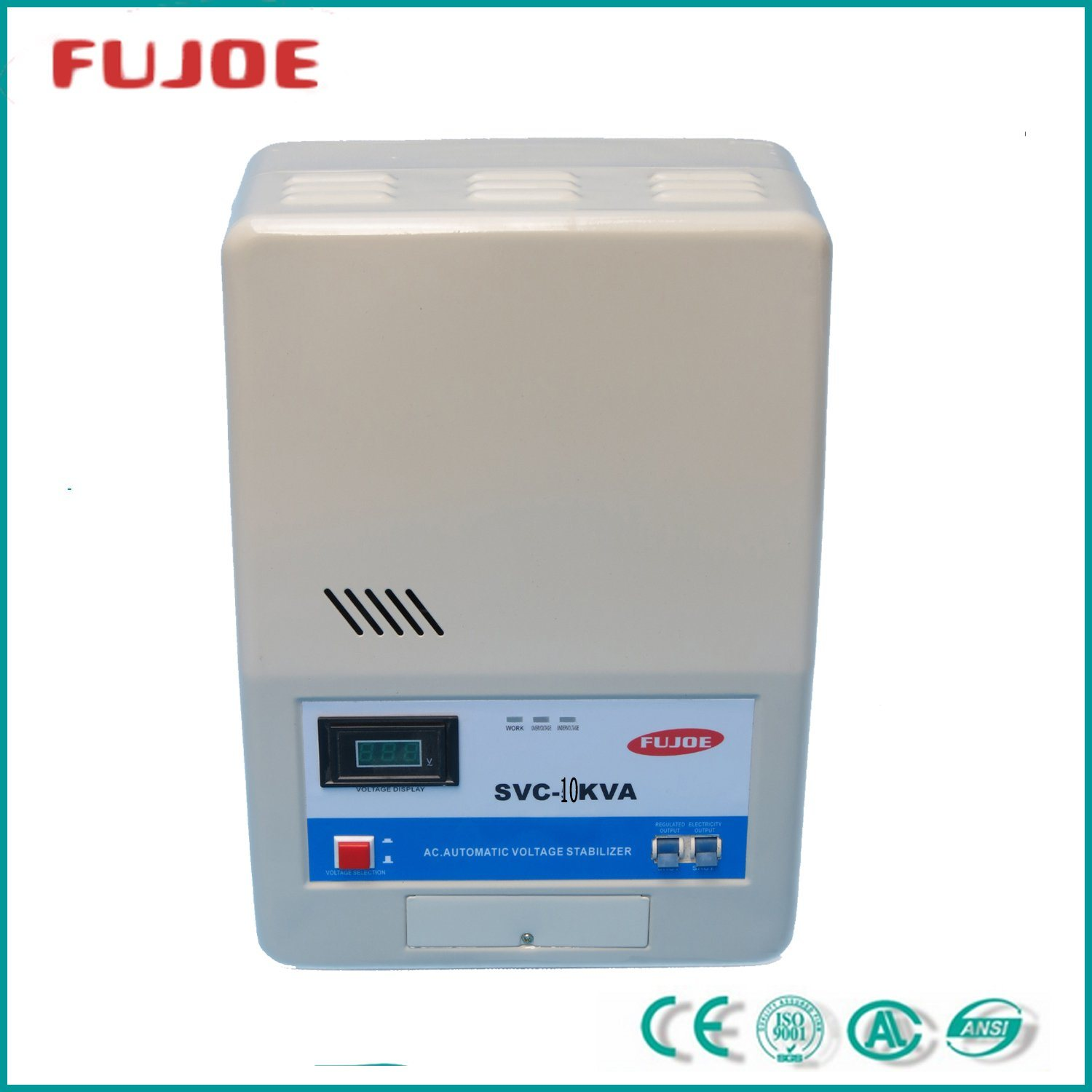 SVC-10000va AC Current Generator Voltage Stabilizer Regulator