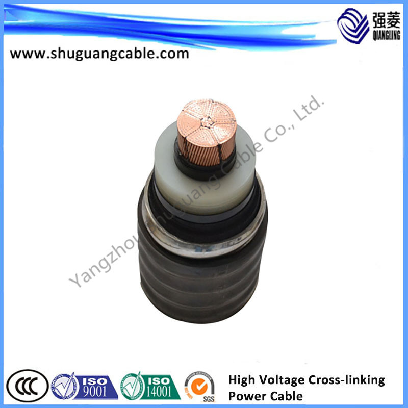 Electric Power Copper Cable with PVC Sheathed
