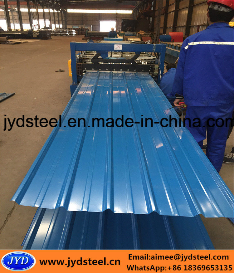 Corrugated PPGI for Steel Roofing Sheet for Somalia Market