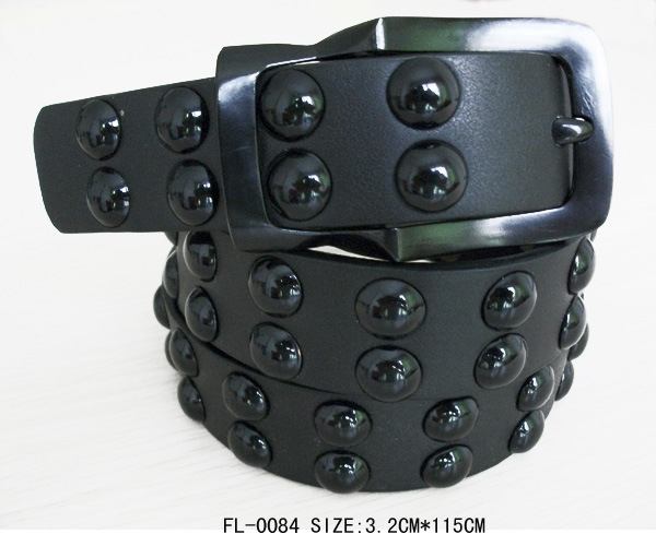 Belt with Big Stud Fl-0084