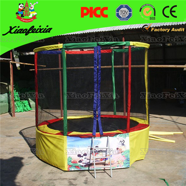 Mini Round Kids Trampoline with Net