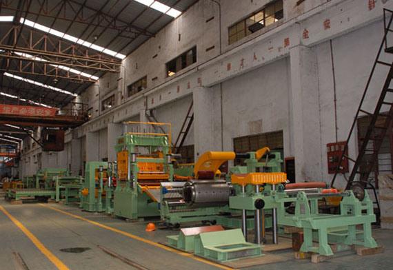 China Aluminum Coil Cutting Machine China Aluminum Coil