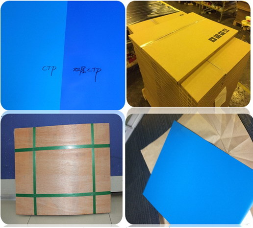 Two Layer Thermal CTP Plate UV Ink Suitable Use