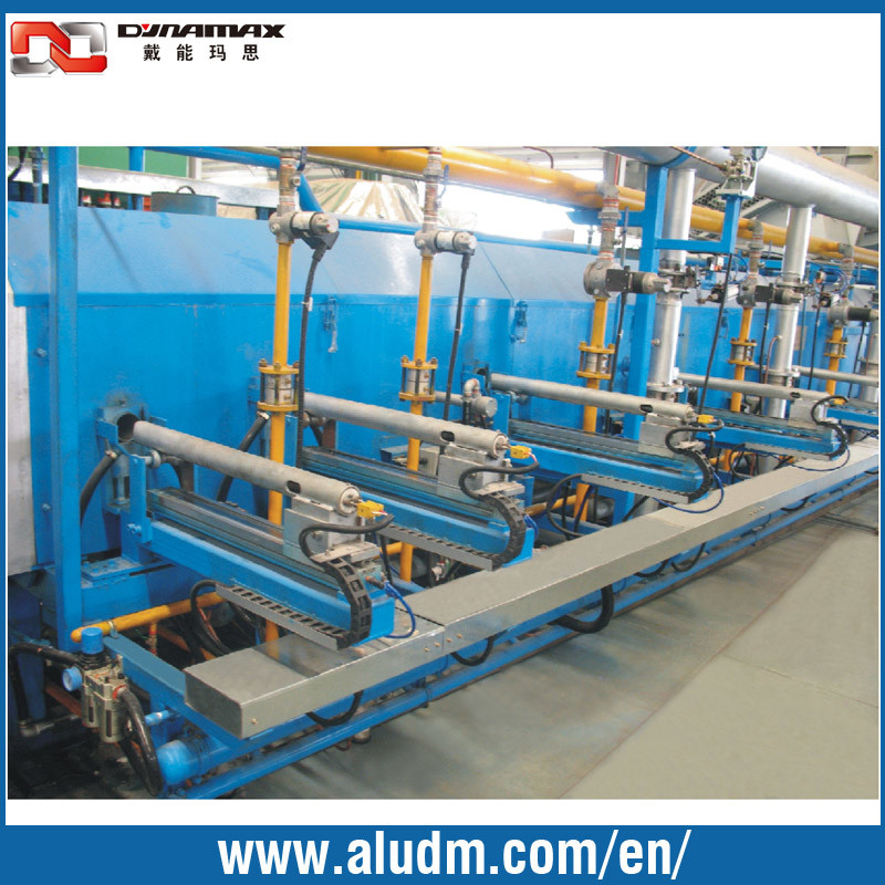 Aluminum Extrusion Machine Single Billet Heating Furnace with Hot Log Shear