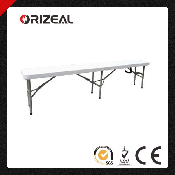 Orizeal 6-Foot Outdoor Plastic Folding Bench (Oz-C2020)