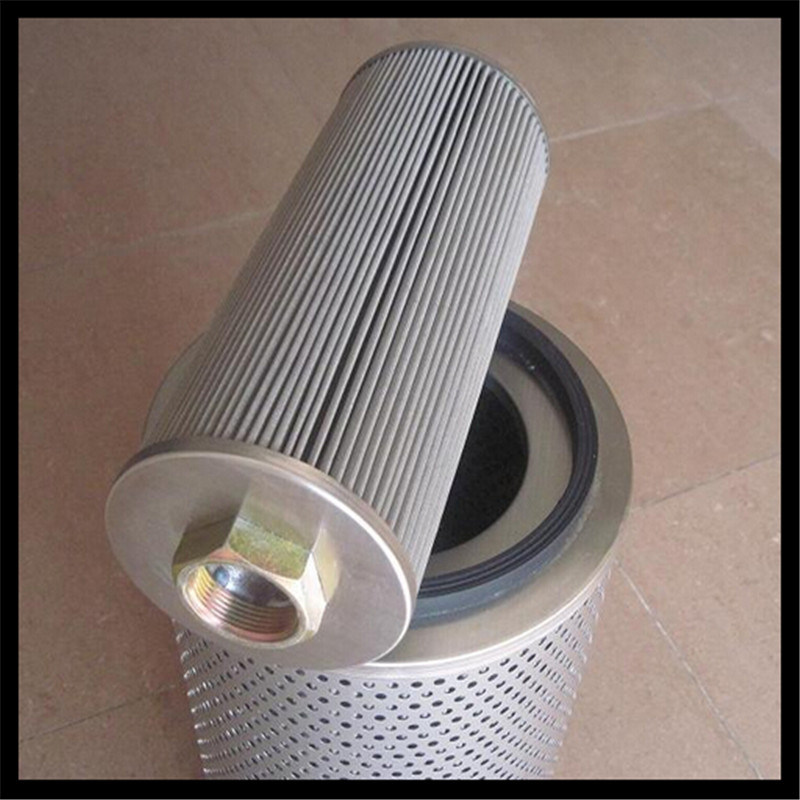Pleated Stainless Steel Mesh Oil Filter Cartridge