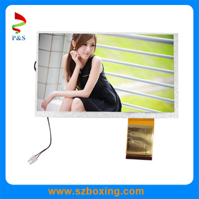 7 Inch TFT LCD Screen with 800*480 Resolution