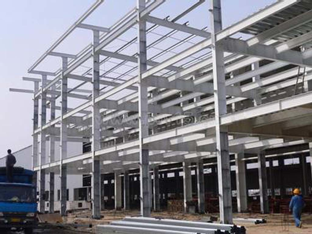 China high strength prefabricated steel beam structure