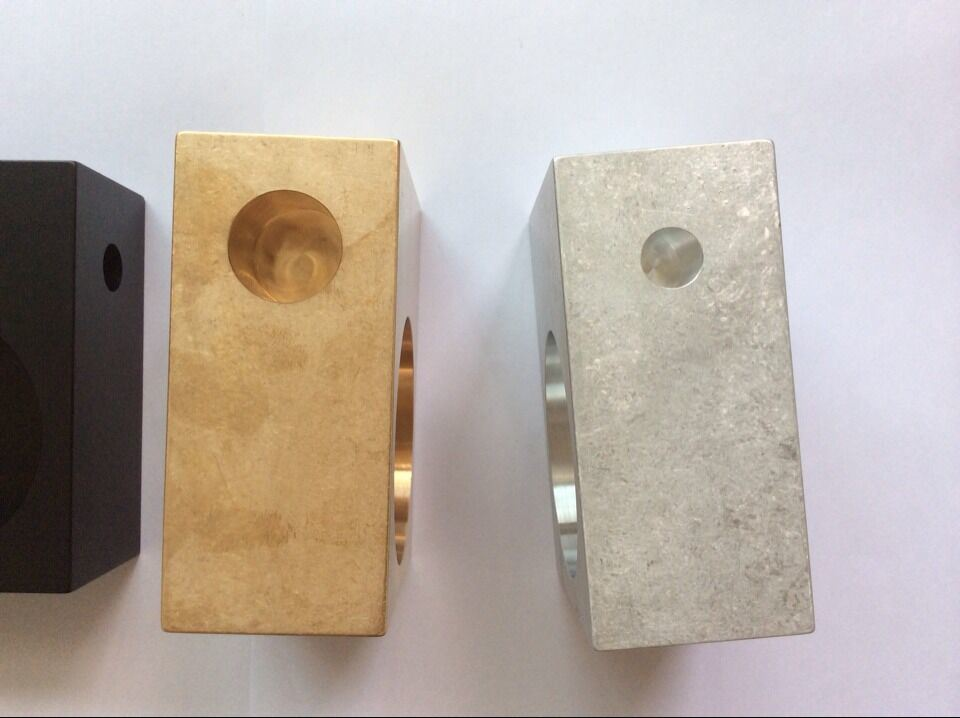 High Quanlity CNC Machining Parts with Tumble Finish and Etching