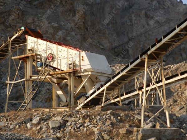 High Efficiency Mining Vibrating Sieve Screen 2ya-2160