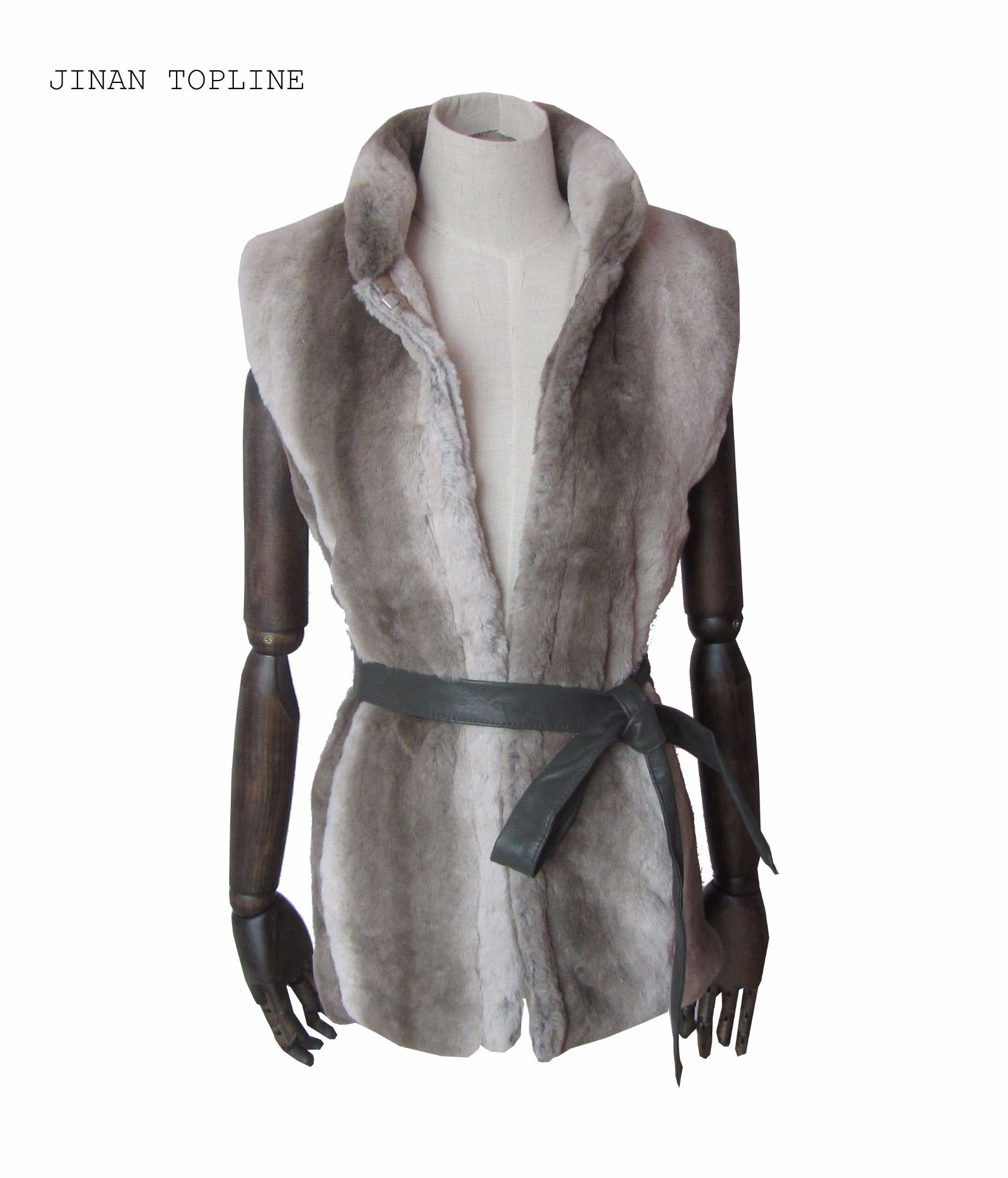 Women Fashion Fake Fur Faux Fur Winter Protection Vest
