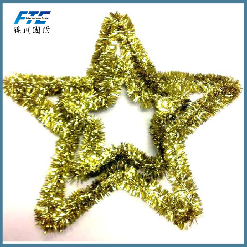 Christmas Tinsel Garland for Christmas Tree or Party Decoration