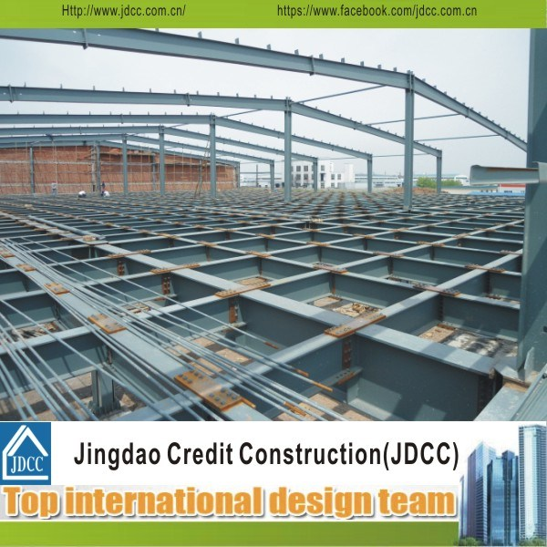 Easy Transport and Install Prefabricated Steel Building