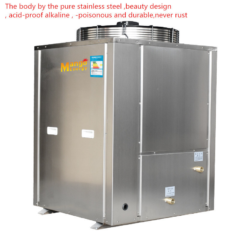 10kw 55-60 Degree Outlet Water Cycle Air Source Heat Pump