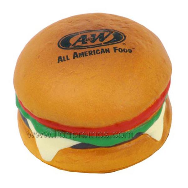 Restaurant Promotional Gift PU Hamburger