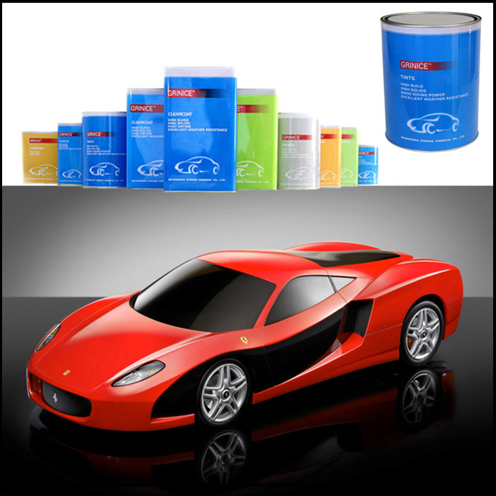 Excellent Adhesion Power 2k Automotive Paint