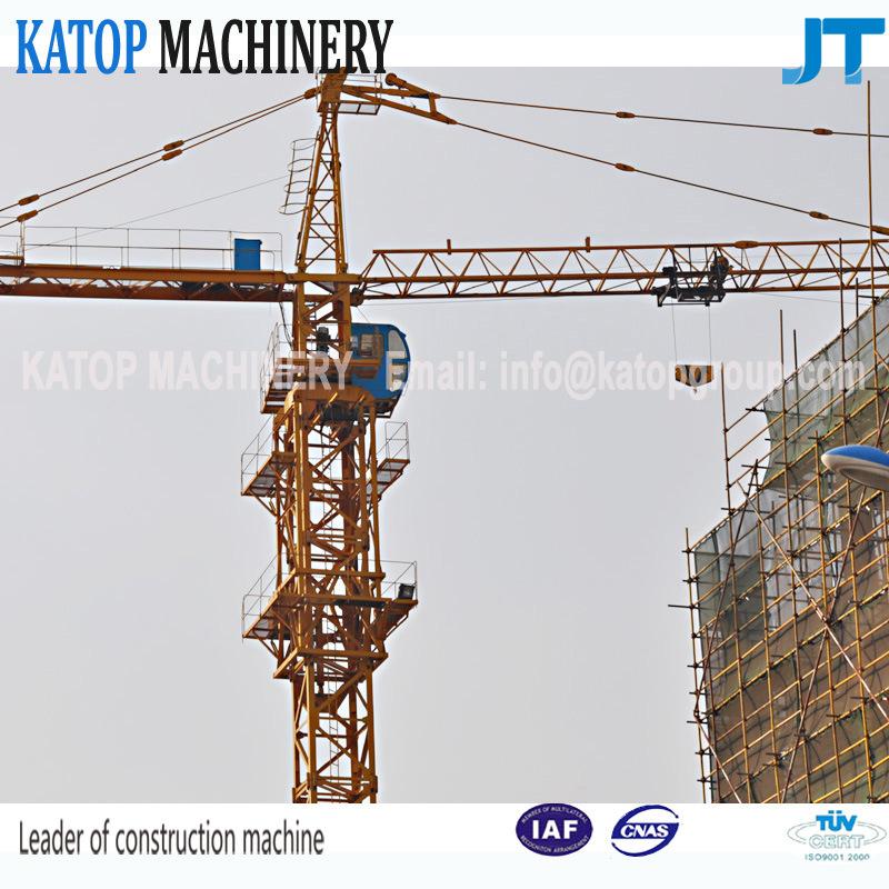 Qtz63 Series 5610-6 Model 6t Load Tower Crane for Sale