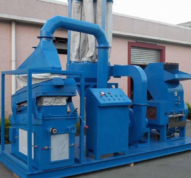 Full Autamatic Waste Scrap Copper Wire Recycling Machine
