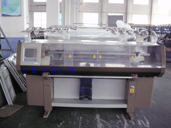 Automatic Flat Jacquard Knitting Machine (TSM-168)