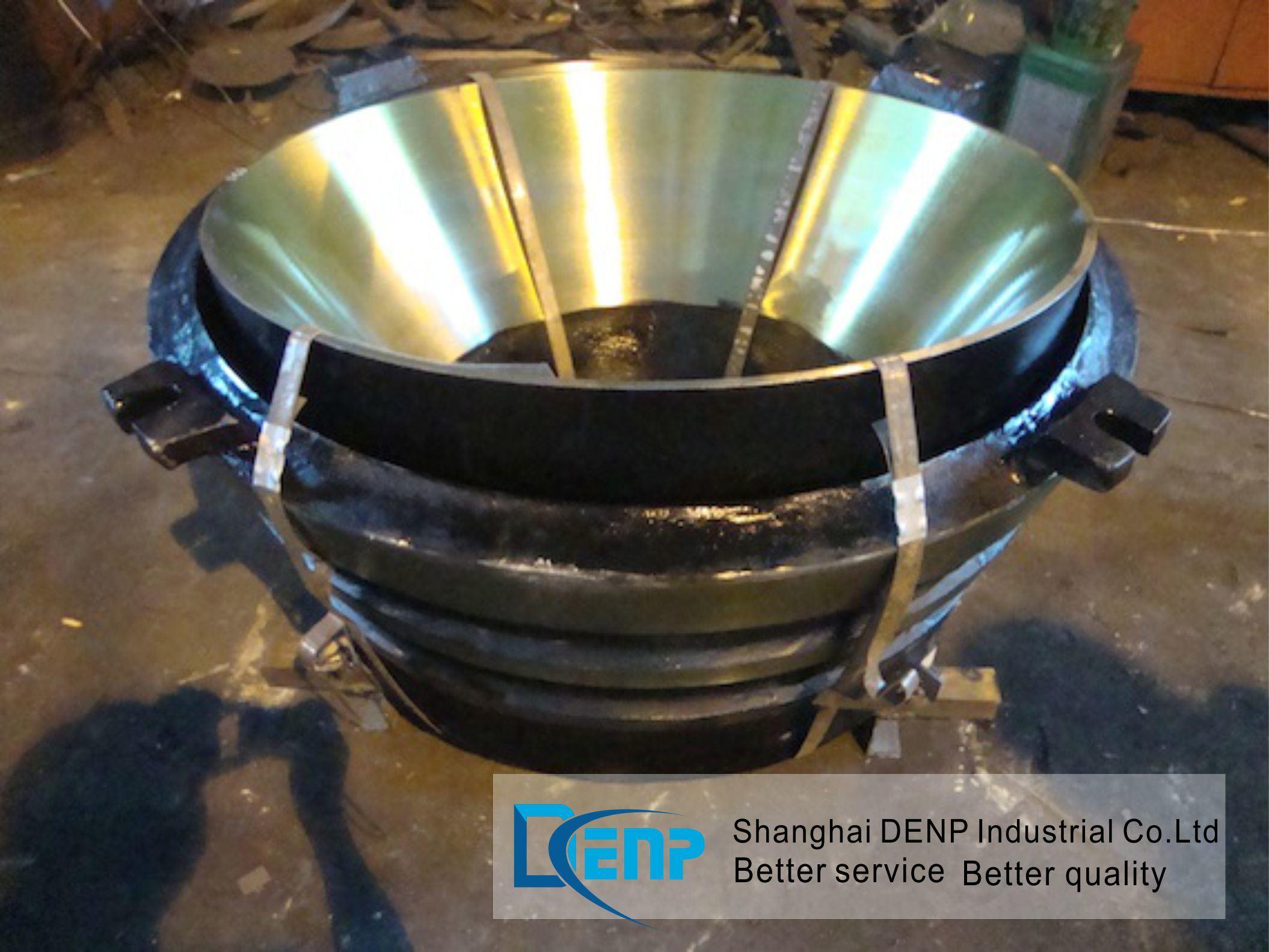(Hpc160, Hpc220, Hpc315, Hpc400) Concave Bowl Liner