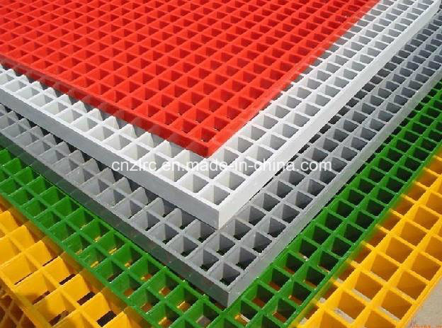 Factory Supply Fiberglass FRP GRP Grid/ Mesh Grid